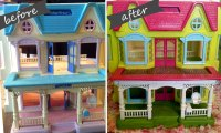 Dollhouse Makeover